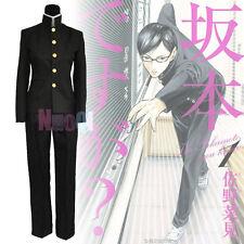 Men Lichi Hikari Oreki Houtarou Sakamoto DK School Uniform Suit Cosplay Costume
