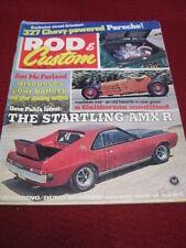 ROD & CUSTOM - STARTLING AMX-R - Oct 1968 vol 16 #10