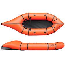 Nortik City Raft Rafting Boot orange-schwarz