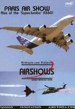 Paris Airshow 2005 A380 F-18 A340 Embraer 175 195 DVD