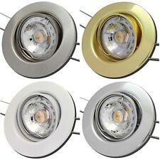 1er Set 5,0W Gu10 LED Einbauleuchten Einbaustrahler Tomas 220Volt Spotleuchten