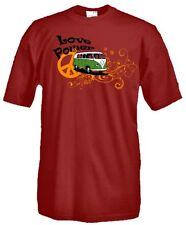 T-Shirt manica corta Motors V17 Love Power Volkswagen VW T2 Settantallora