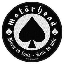 Motorhead Born Lose Patch
