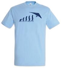 Hang Gliding Evolution T-Shirt Player Coach Fun Human Charles Darwin Glider