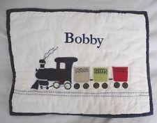 "Pottery Barn Kids Backseat Driver Toddler Pillow Sham 12X16"" Nwot Nla"