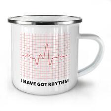Have Rhythm NEW Enamel Tea Mug 10 oz | Wellcoda