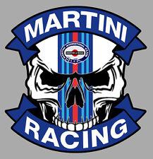MARTINI RACING Skull Sticker°