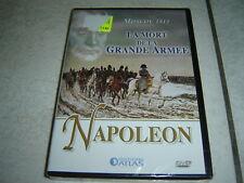 29135//NAPOLEON MOSCOU 1812 LA MORT DE LA GRANDE ARMEE DVD NEUF