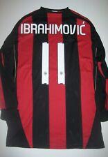 2010 Adidas AC Milan Zlatan Ibrahimovic Jersey Manchester United Long Sleeve