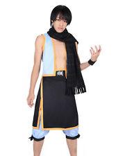 Fairy Tail Cosplay Costume Salamander Dragon Slayer Dragneel Natsu Outfit V2 Set