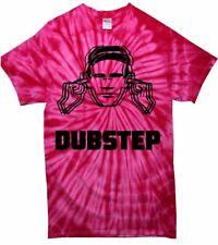 DUBSTEP TIE DYE T-SHIRT - Dub Step Festival Drum n Bass - Colour Choice