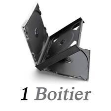 Boitier pour 4 CD Noir