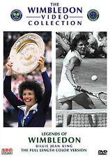Legends of Wimbledon: Billie Jean King (2005, DVD) Factory Sealed FREE SHIPPING