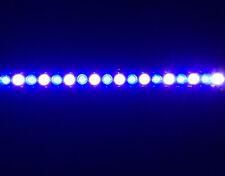 """Aquarium LED Light Bar 48"""" ReefBar Pro 50/50 Blue/12k 48x 3W Bridgelux 55 75 gal"""