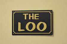 The Loo Christmas Birthday Fathers Day Toilet Bathroom Home Humorous Gift Sign