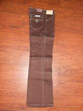 70s Vintage Original Wrangler Kids Looper Boot Flare Brown Jeans 12 Reg/14 Slim!