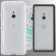 For Sony Xperia XZ3 Case Hard Back TPU Bumper Hybrid Shockproof Slim Phone Cover