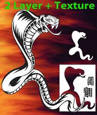Snake 1 Animal Airbrush Stencil Spray Vision Template