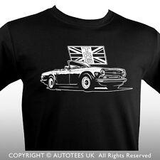 TRIUMPH TR6 Classic Car T-Shirt-Autotees