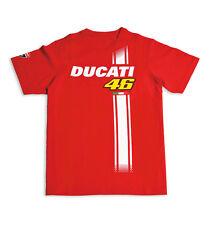 DUCATI Corse Kinder T-Shirt VALENTINO ROSSI D46 FAN KIDS Moto GP NEU !!