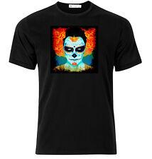 El Dia De Los Muertos III - Graphic Cotton T Shirt Short & Long Sleeve