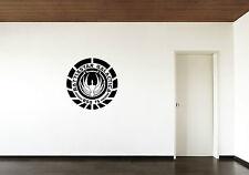 Battlestar Galactica Vinyl Wandaufkleber KUNST Aufkleber groß Pic Grafik BSG