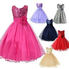 Blumenmädchenkleid Festkleid Abendkleid Festliches Kleid Tüll Kinder Hochzeit DE