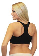 Best Air Bra Set of 2 Air Bra Razorback Black and Grey lingerie Gym Sport  13255