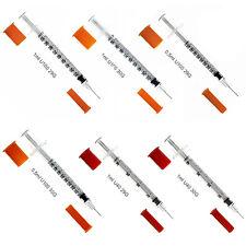 SFM ® Insulinspritzen : U100-U40 0.5-1ml 29G-30G Einweg Einmal Spritzen (100)