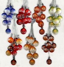 Weihnachtsdekoration beleuchtet Glaskugelschmuck Kugelgehänge, Weihnachtskugeln