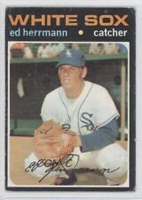 1971 Topps #169 Ed Herrmann Chicago White Sox Baseball Card