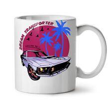 Mustang Car New White Tea Coffee Mug 11 OZ | wellcoda