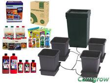 Autopot 4 Pot Grow System Kits With Growing Media & Fertilisers Hydroponics
