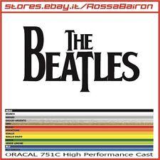 1 ADESIVO THE BEATLES LOGO mm.100 x 56 - AUFKLEBER PEGATINAS DECALS BAND ROCK