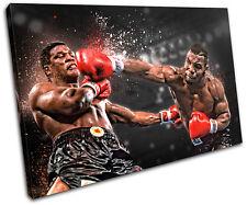 Boxing Mike Tyson Sports SINGLE CANVAS WALL ART Picture Print VA