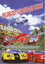 JALECO SUPER GT 24 VIDEO ARCADE GAME ADVERTISING SALES FLYER BROCHURE 1996