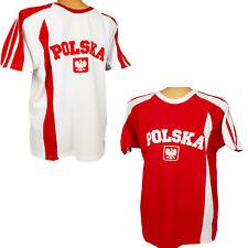 POLSKA Polen T-Shirt Polnische Flagge Polens Fußball Fan