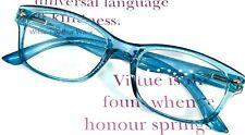 Reading Glasses Retro Jelly Color Frame Full Lens Readers Spring Hinge WOMEN MEN