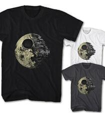 ★Herren T-shirt Star Wars Todesstern Dark Side of the Moon Movie Neu DM8215★