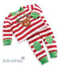 Unisexe Garçon Fille Noël Pyjamas Ensemble Noël vêtements de nuit Cadeau Noël 18m-6y