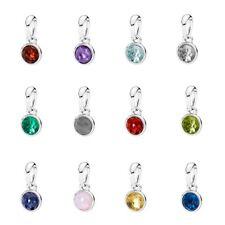 * Authentic Pandora Birthstone Drop Droplet Dangle Synthetic Gem Birthday Charm
