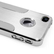 Apple iPhone 4 / 4S Cover Schutz Hülle Alu Chrom Bumper Hard Case Handyhülle