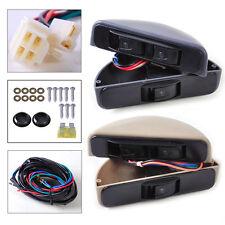 For Car Front 2 Door 3 Rocker Switch Kit Power Window Lock 12V