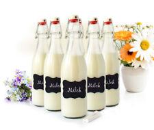2-12 Stk Glasflaschen Bügelverschluss 500ml Tafelfeld Flasche Drahtbügelflasche