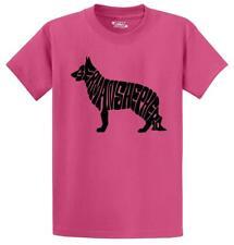 Mens German Shepherd T-Shirt Dog Animal Puppy Graphic T Shirt