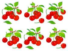 Vintage Image Retro Kitchen Vivid Fruit Cherry Cherries Waterslide Decals FRU731