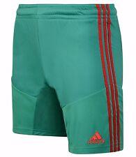 Nuevo pantalón corto para hombre Adidas Gimnasio Entrenamiento Gimnasio Corto Pantalones informal de fútbol-Verde