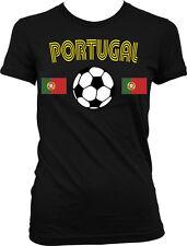 Portugal European National Soccer Team Portuguesa de Futebol Juniors T-shirt