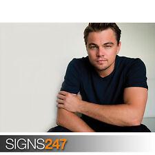 Leonardo DiCaprio jóvenes (2086) Cartel de celebridades-arte cartel impresión A1 A2 A3 A4