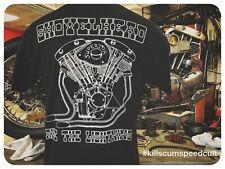 Shovelhead Ride The Lightning engine motor shirt vintage harley easyriders biker